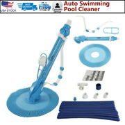 Cleaner Vacuum Automatic Swimming Pool Spa Inground Hover Climb Wall 33ft Hose