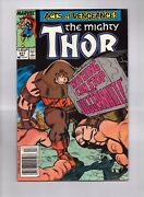 The Mighty Thor 411 First Cameo Of The New Warriors And Night Thrasher Newsstand