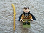 Lego Lord Of The Rings - Rare Original Elrond W/ Staff - 5000202 - Exclusive