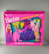 Barbie - Fashion Gift Set 6 Complete Outfits - Vintage Boxed - Mattel 1995