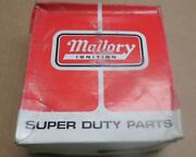 New Nib Nos Number 221 Mallory Red 8 Cylinder 25 Yl Series Flat Distributor Cap