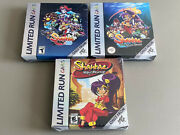 ⚡brand New Unopened⚡ Shantae Retro Game Boy Color Boxes Limited Run Games Pax