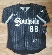 Luis Robert Chicago White Sox Southside City Edition Jersey All Stitched Xl 🔥