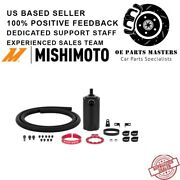 Mishimoto Mmbcc-uni-rd - Fits Universal Baffled Oil Catch Can, Red