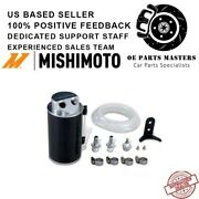 Mishimoto Baffled Oil Catch Can Subaru Brz/scion Fr-s, Red Fits 13-15