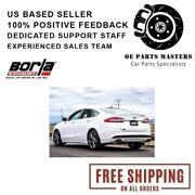 Borla Axle-back Exhaust S-type 11942 Fits 2017-2018 Ford Fusion Sport 2.7l Turbo