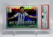 2014 Panini Prizm World Cup Silver Net Finders Lionel Messi Card Psa 10 Pop 18