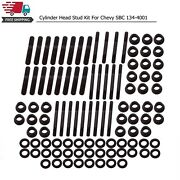 134-4001 Cylinder Head Stud Kit For Chevy Sbc 305 327 400 350 For Pce Heads