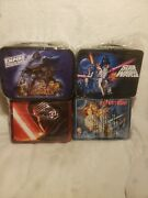 Star Wars Tin Lunchboxes 4 Total