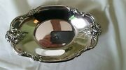 Is International Silver Company 448 Silverplate Orleans Roses Oval Tray