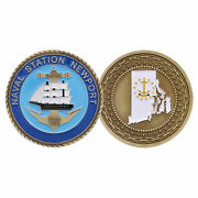 Naval Station Newport Coin