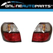 Lh+rh Genuine Replacement Tail Lights Pair For Subaru Outback Gen3 1998-2003 L+r