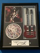 Jimmy Page Led Zeppelin 11 X 14 V3 Guitar Shadow Box Tribute V3