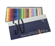 Holbein Artists Colored Pencil 50 Colors Sets Paper Box Holbein Art Materials