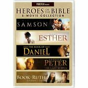 Universal Studios Heroes Of The Bible 5-movie Collection Dvd