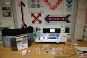 Bernina 820 Qe Quilterand039s Edition Sewing And Quilting Machine W/ Bsr- Ready To Go