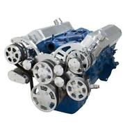 Small Block Ford All Inclusive Serpentine System - Short Water Pump 289 302 351w