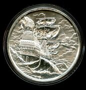 The Storm Privateer Series 2 Oz Silver Ultra High Relief Round Elemetal - Jl641