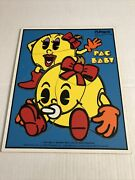 Playskool Pac Baby Play Time 1982 360-1 Bally Midway Wooden Puzzle