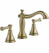 Delta 3597lf-czmpu Cassidy Widespread Bathroom Faucet With Pop-up Drain Assembly