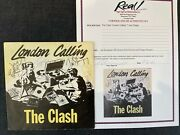 The Clash Signed X4. London Calling/ Armagideon Time 7 Sleeve. Epperson Coa