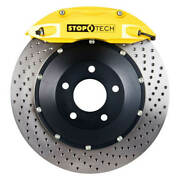 Stoptech 83.137.0047.82 - Bbk 2pc Rotor - Rear - Sold As A Pair