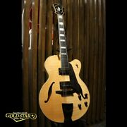 Dand039aquisto Dq-jz Jr. Hollow Natural Used Electric Guitar