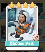 Captain Nash Coin Master Card 2 For Sale Get Them While They Last 1=5