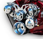 March Performance Sbc Style Track Pulley Set Alt A/c With P/s 21150