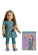 """New American Girl Mckenna Girl Of The Year Goty 2007 18"""" Doll And Book - Retired"""