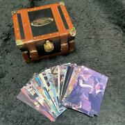 Titanic Limited Edition Serial Numbered Super Rare Mini Trunk And Trading Card Jpn