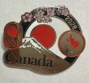 Tokyo 2020 Olympics Canada Pin Badge Not Sold In Store F/s