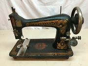 Vintage Antique 1900s Franklin Cast Iron Industrial Sewing Machine Head Only