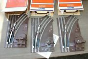 3 Lionel 65022 O27 Right Hand Manual Switches Ln/box