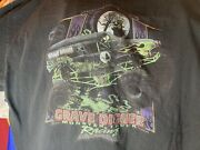 Vintage 90s Grave Digger Monster Truck Racing Tee Size Xl