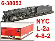 Lionel 6-38053 New York Central Nyc 4-8-2 L-2a W/tmcc/railsounds/odyssey 2003 C8