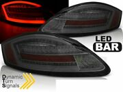Tail Lights For Porsche Boxster 987/cayman 2005-2008 Smoke Led Dynamic Turn Sign