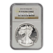 2013 Silver Eagle - Proof - Ngc Pf70