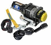 Superwinch 1140230 Winch Electric 12v 4000lbs Hawse Fairlead 50ft Synthetic Rope