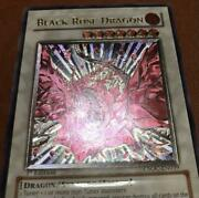 Collection Items Yu-gi-oh Black Rose Dragon 1st Relief English U.s. Version