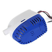 Submersible Auto Bilge Water Pump 24v Auto Motor Easlily Use White+blue