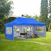Hyd-parts Outdoor 10x20 Ft Pop Up Canopy Party Tent,wedding Gazebo Tents Four S