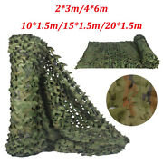 Camo Net Shooting Camouflage Netting /hunting Hide Army Camping Woodland Netting