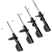 Set-ky334227 Kyb Shock Absorber And Strut Assemblies Set Of 4 New For Chevy Olds