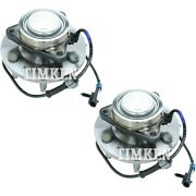 Set-tmsp450301 Timken Set Of 2 Wheel Hubs Front Driver And Passenger Side New Pair