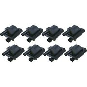 Set-wkp9201006-8 Walker Products Set Of 8 Ignition Coils New For Chevy Olds
