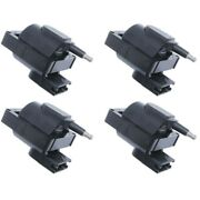 Set-wkp9201011-4 Walker Products Set Of 4 Ignition Coils New For Bronco Country