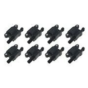 Set-wkp9201061-8 Walker Products Set Of 8 Ignition Coils New For Chevy Suburban
