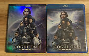 Rogue One A Star Wars Story Blu-ray Disc 2017 3-disc Setauthentic Us