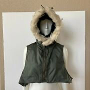 Vintage Military Hood Winter Flyers Nomex Fire Resistant Kings Point Mfg